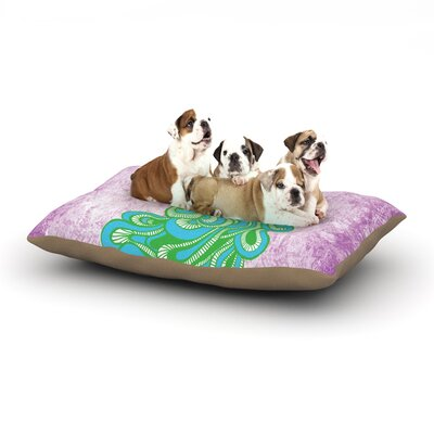 Geordanna Cordero-Fields Beauty in Waiting Dog Pillow with Fleece Cozy Top Size: Large (50 W x 40 D x 8 H)