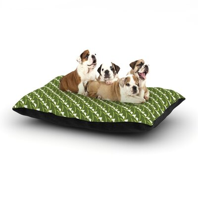 Holly Helgeson Deco Calla Lily Dog Pillow with Fleece Cozy Top Size: Small (40 W x 30 D x 8 H)