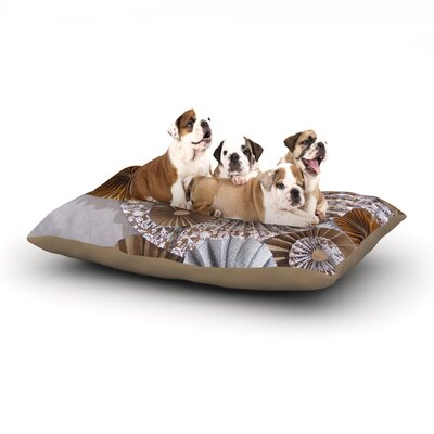 Heidi Jennings Venice Dog Pillow with Fleece Cozy Top Size: Large (50 W x 40 D x 8 H)