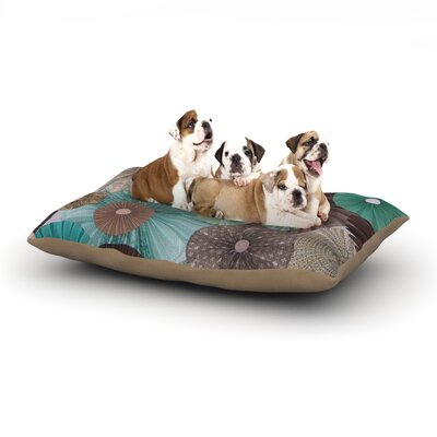 Heidi Jennings Atlantis Dog Pillow with Fleece Cozy Top Size: Small (40 W x 30 D x 8 H)