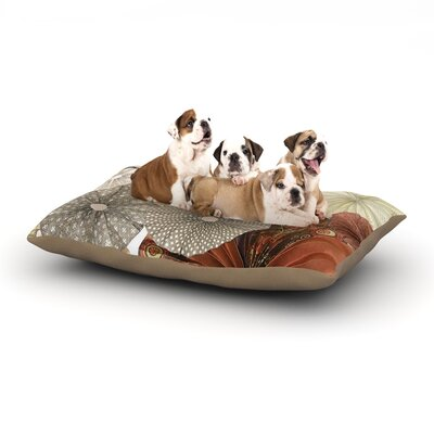 Heidi Jennings Dusty Road Dog Pillow with Fleece Cozy Top Size: Small (40 W x 30 D x 8 H)