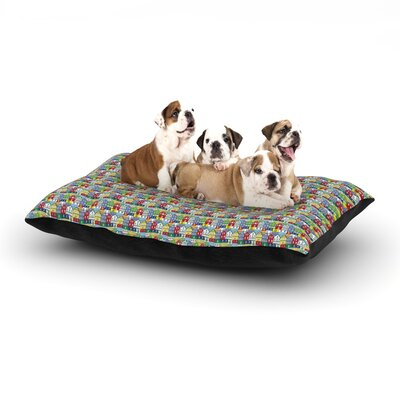 Holly Helgeson Reykjavik Dog Pillow with Fleece Cozy Top Size: Large (50 W x 40 D x 8 H)
