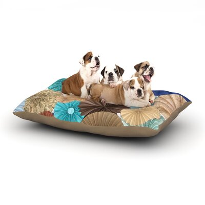 Heidi Jennings Day At the Beach Dog Pillow with Fleece Cozy Top Size: Small (40 W x 30 D x 8 H)