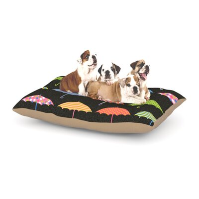 Heidi Jennings Umbrella Dog Pillow with Fleece Cozy Top Size: Small (40 W x 30 D x 8 H)