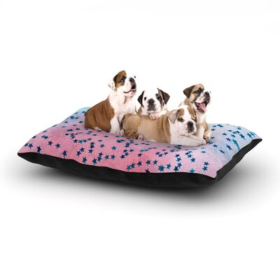 Iris Lehnhardt Stargazer Dog Pillow with Fleece Cozy Top Size: Small (40 W x 30 D x 8 H)