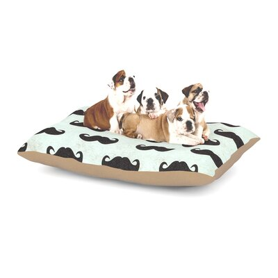 Heidi Jennings Staching Dog Pillow with Fleece Cozy Top Size: Small (40 W x 30 D x 8 H)