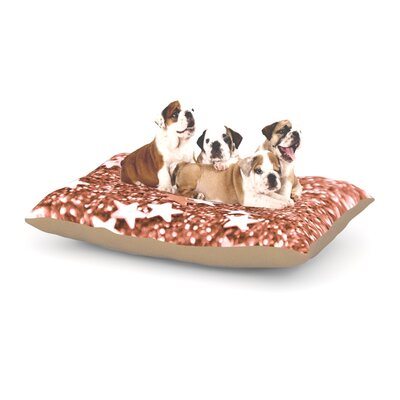 Derrick Iris Lehnhardt Copper Glaze Dog Pillow with Fleece Cozy Top Size: Small (40 W x 30 D x 8 H)