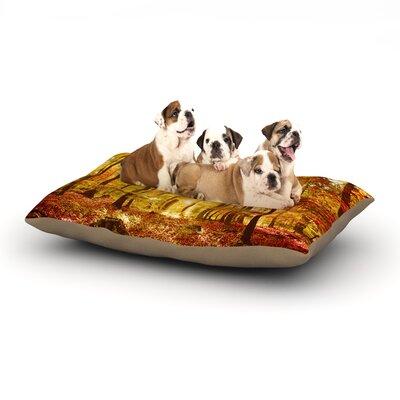 Iris Lehnhardt Sun Flooded Dog Pillow with Fleece Cozy Top Size: Small (40 W x 30 D x 8 H)
