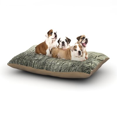 Iris Lehnhardt Summer Grasses Dog Pillow with Fleece Cozy Top Size: Large (50 W x 40 D x 8 H)