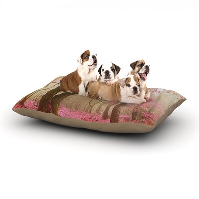 Iris Lehnhardt Atmospheric Autumn Dog Pillow with Fleece Cozy Top Size: Large (50 W x 40 D x 8 H)