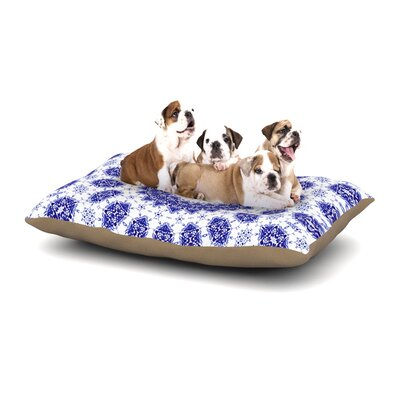 Iris Lehnhardt M2 Dog Pillow with Fleece Cozy Top Size: Small (40 W x 30 D x 8 H)