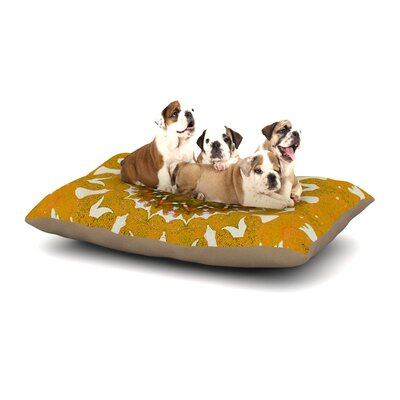 Iris Lehnhardt 'M1' Dog Pillow with Fleece Cozy Top Size: Small (40