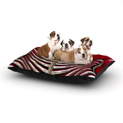 Ingrid Beddoes Red Chevy Dog Pillow with Fleece Cozy Top Size: Small (40 W x 30 D x 8 H)