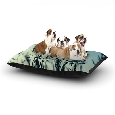 Ingrid Beddoes Cool Breeze Dog Pillow with Fleece Cozy Top Size: Small (40 W x 30 D x 8 H)