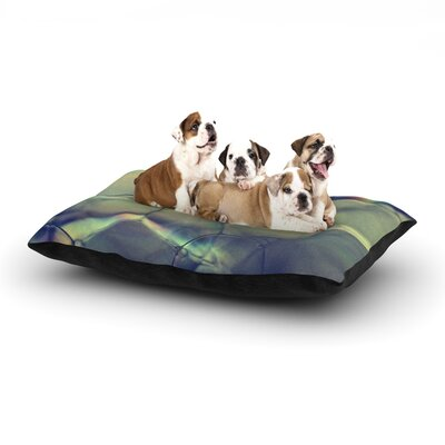 Ingrid Beddoes Bubblicious Dog Pillow with Fleece Cozy Top Size: Large (50 W x 40 D x 8 H)