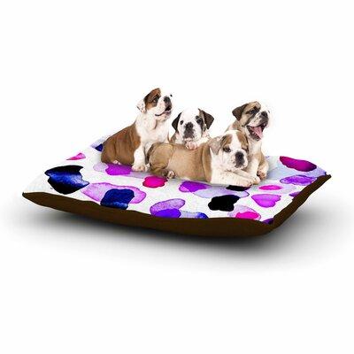 Iris Lehnhardt Cool Summer Dog Pillow with Fleece Cozy Top