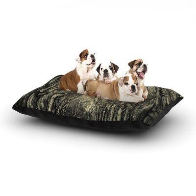 Ingrid Beddoes Where Trees Still Whisper Dog Pillow with Fleece Cozy Top Size: Small (40 W x 30 D x 8 H)