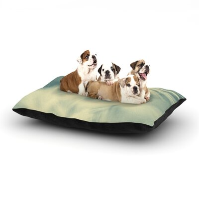 Ingrid Beddoes Snowflake Dog Pillow with Fleece Cozy Top Size: Large (50 W x 40 D x 8 H)