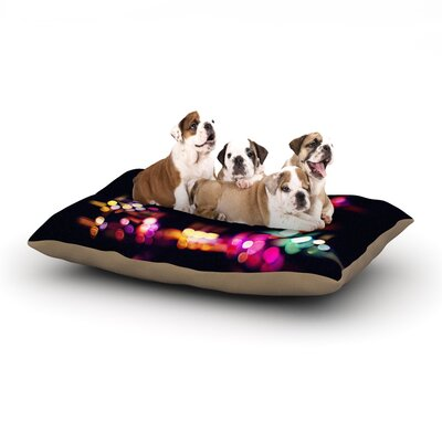 Ingrid Beddoes Road Trip Dog Pillow with Fleece Cozy Top Size: Large (50 W x 40 D x 8 H)