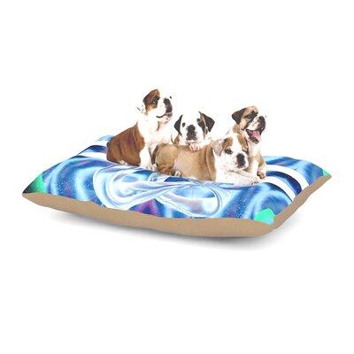 Infinite Spray Art New Era Dog Pillow with Fleece Cozy Top
