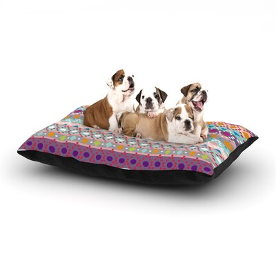 Nika Martinez Ayasha Dog Pillow with Fleece Cozy Top Size: Large (50 W x 40 D x 8 H)