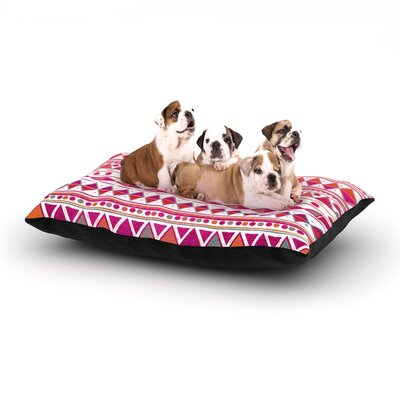 Nika Martinez Summer Breeze Dog Pillow with Fleece Cozy Top Size: Large (50 W x 40 D x 8 H)