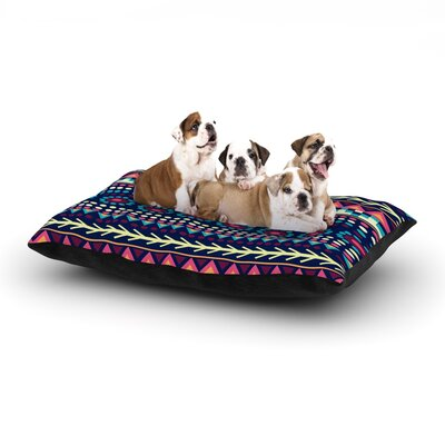 Nika Martinez Aiyana Dog Pillow with Fleece Cozy Top Size: Large (50 W x 40 D x 8 H)