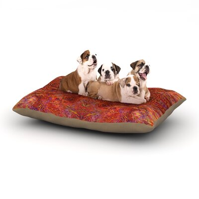 Nikposium Sedona Dog Pillow with Fleece Cozy Top Size: Large (50 W x 40 D x 8 H)