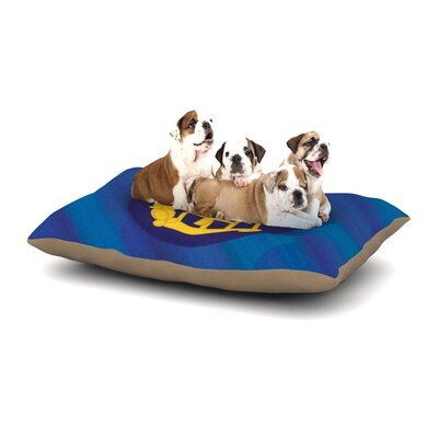 NL Designs Mercury Dog Pillow with Fleece Cozy Top Size: Large (50 W x 40 D x 8 H)