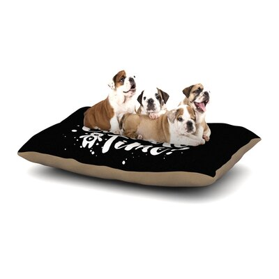 Nick Atkinson Cuddle Time Dog Pillow with Fleece Cozy Top