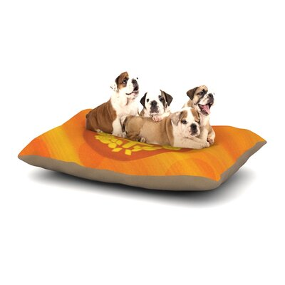 NL Designs Venus Dog Pillow with Fleece Cozy Top Size: Small (40 W x 30 D x 8 H)