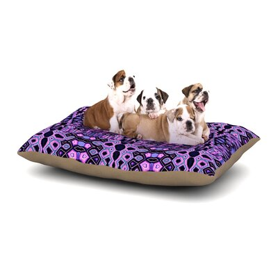Nina May Medeaquilt Dog Pillow with Fleece Cozy Top Size: Small (40 W x 30 D x 8 H)