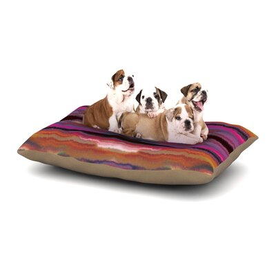 Nina May Sola Color Dog Pillow with Fleece Cozy Top Size: Large (50 W x 40 D x 8 H)