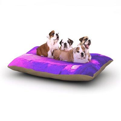 Oriana Cordero Suenos en Purpura Dog Pillow with Fleece Cozy Top Size: Large (50 W x 40 D x 8 H)