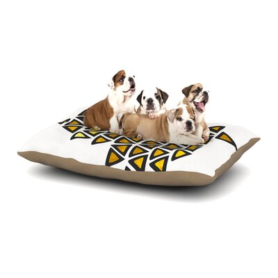 Pom Graphic Design Inca Tribe Dog Pillow with Fleece Cozy Top Size: Small (40 W x 30 D x 8 H)