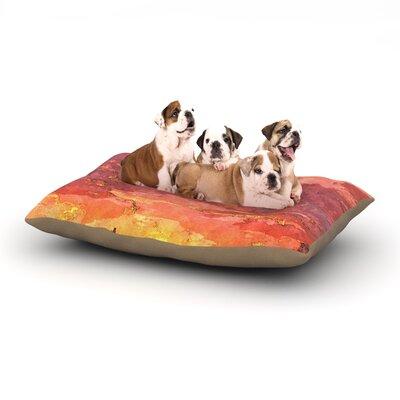 Oriana Cordero Horizon Sky Dog Pillow with Fleece Cozy Top Size: Small (40 W x 30 D x 8 H)