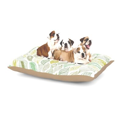 Pom Graphic Design Inspire Nature Dog Pillow with Fleece Cozy Top Size: Large (50 W x 40 D x 8 H)
