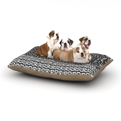 Pom Graphic Design Wind Night Dog Pillow with Fleece Cozy Top Size: Large (50 W x 40 D x 8 H)