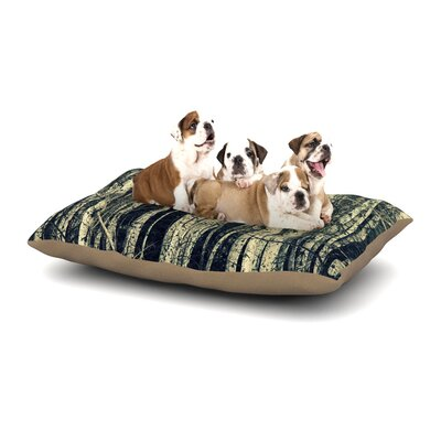 Robin Dickinson Birch Dog Pillow with Fleece Cozy Top Size: Small (40 W x 30 D x 8 H)