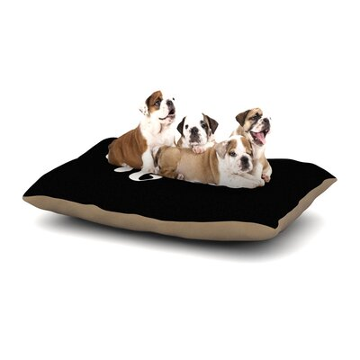 Roberlan Hello Dog Pillow with Fleece Cozy Top Size: Small (40 W x 30 D x 8 H)