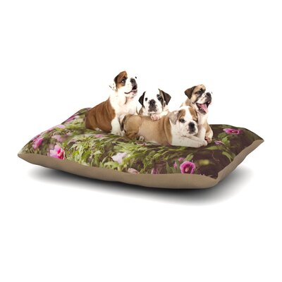 Ann Barnes Lush Dog Pillow with Fleece Cozy Top Size: Large (50 W x 40 D x 8 H)