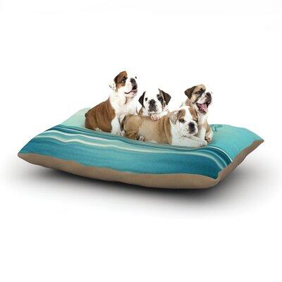 Ann Barnes Dreamer Dog Pillow with Fleece Cozy Top Size: Small (40 W x 30 D x 8 H)