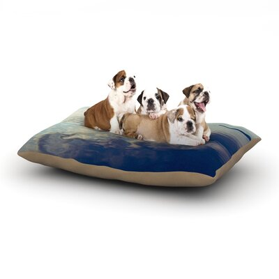 Ann Barnes Cloud Atlas Water Dog Pillow with Fleece Cozy Top Size: Large (50 W x 40 D x 8 H)