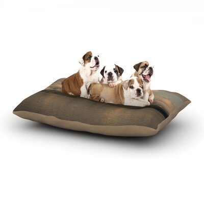 Ann Barnes Wild Heart Landscape Dog Pillow with Fleece Cozy Top Size: Large (50 W x 40 D x 8 H)