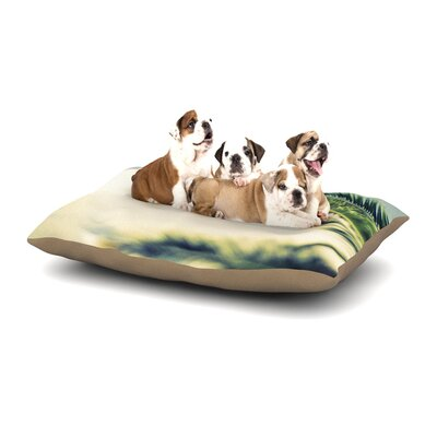 Ann Barnes Summer Breeze Nature Photography Dog Pillow with Fleece Cozy Top Size: Small (40 W x 30 D x 8 H)