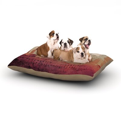 Alison Coxon City Dog Pillow with Fleece Cozy Top Size: Small (40 W x 30 D x 8 H)