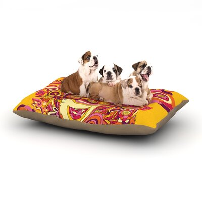 Alisa Drukman Utopia Dog Pillow with Fleece Cozy Top Size: Small (40 W x 30 D x 8 H)