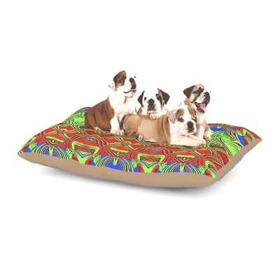 Anne LaBrie Mystic Flow Dog Pillow with Fleece Cozy Top Size: Large (50 W x 40 D x 8 H)