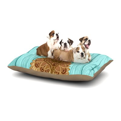 Art Love Passion Gatsby the Great Dog Dog Pillow with Fleece Cozy Top Size: Small (40 W x 30 D x 8 H)