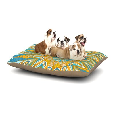 Art Love Passion Here Comes the Sun Dog Pillow with Fleece Cozy Top Size: Small (40 W x 30 D x 8 H)